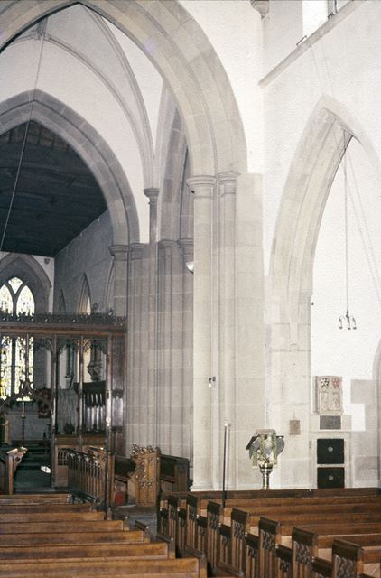 Bakewell Church - Interior Looking SE