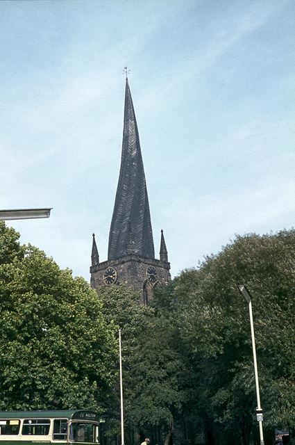 St. Mary's and All Saints Church, Chesterfield