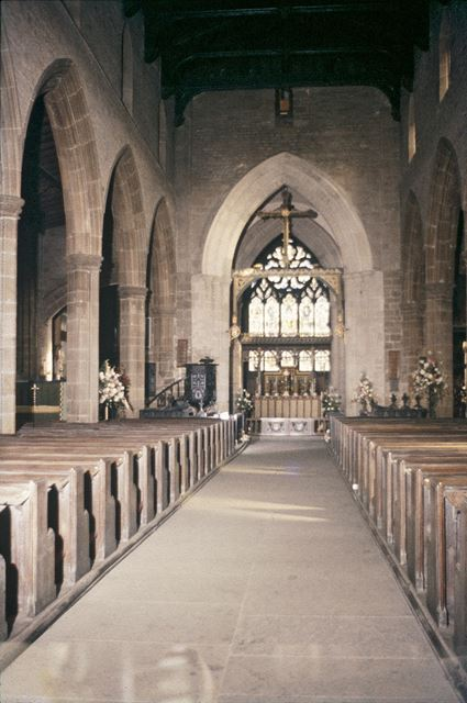View Down Nave, St. Mary's and All Saints Church, Chesterfield