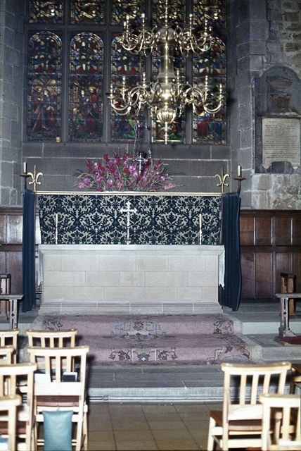 Altar of St. Katherene, St. Mary's and All Saints Church, Chesterfield