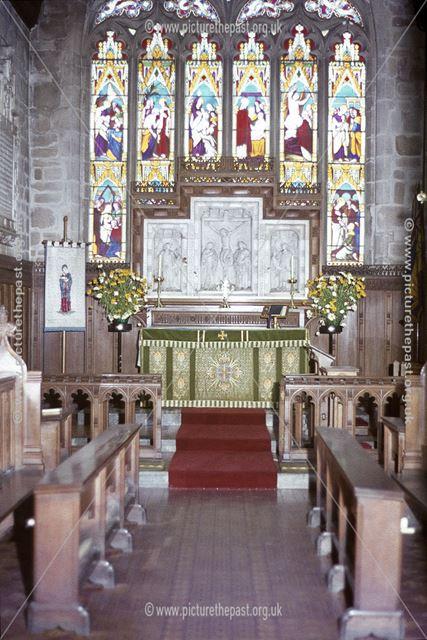Chancel, All Saint's Church, Sudbury