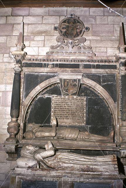 Vernon Tomb, All Saint's Church, Sudbury