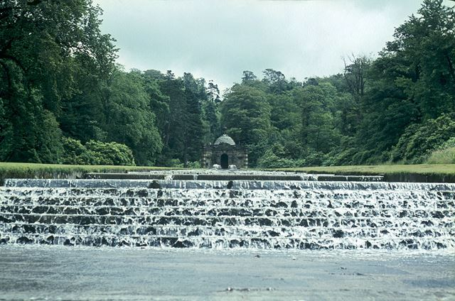 The Cascade waterfall, Chatsworth