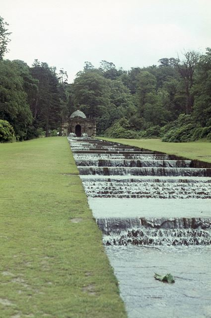 The Cascade waterfall, Chatsworth