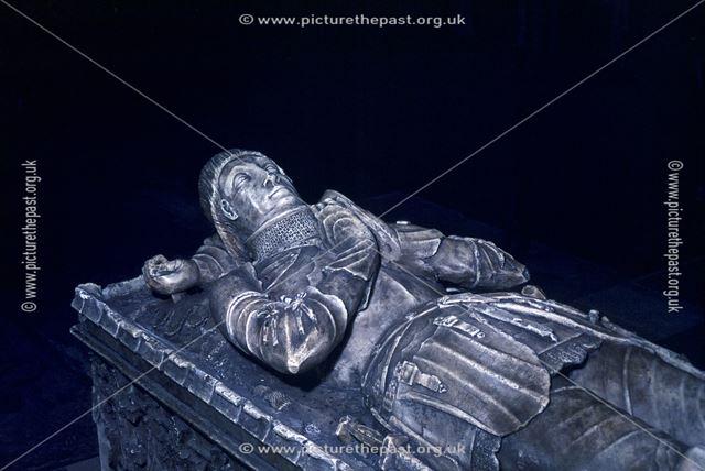 Nicolas Fitzherbert's Tomb, Norbury Church, Norbury