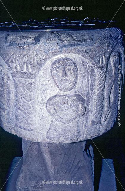 Saxon Font, Church of the Holy Cross, Ilam