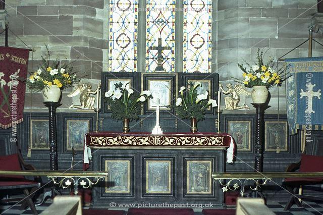 Altar, Scropton Church, Scropton