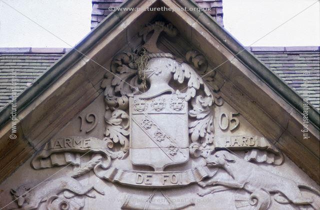 Foston Hall Coat of Arms, Foston