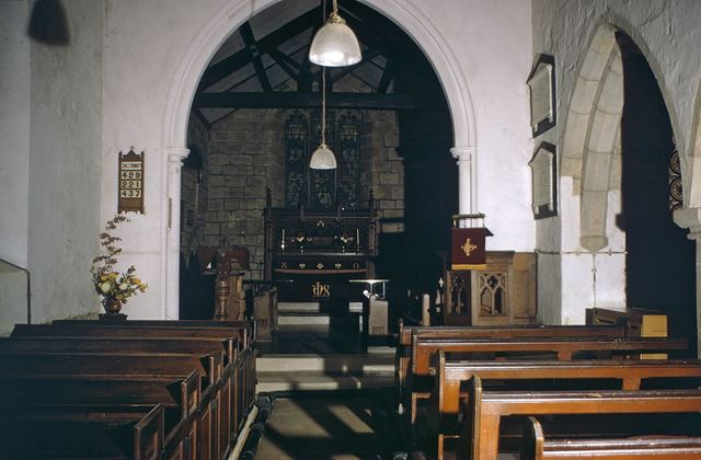 St John the Baptist Church - interior, Boylestone
