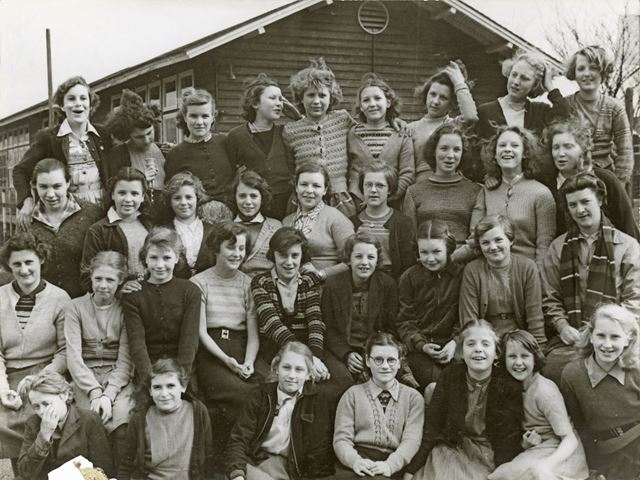 Melandra Dormitory, Amber Valley Camp School, Woolley Moor, Alfreton, 1954