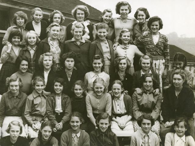 Melandra Dormitory, Amber Valley Camp School, Woolley Moor, Alfreton, 1954