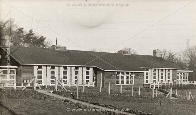 Amber Valley Camp School Main Building, Woolley Moor, c 1940s-50s