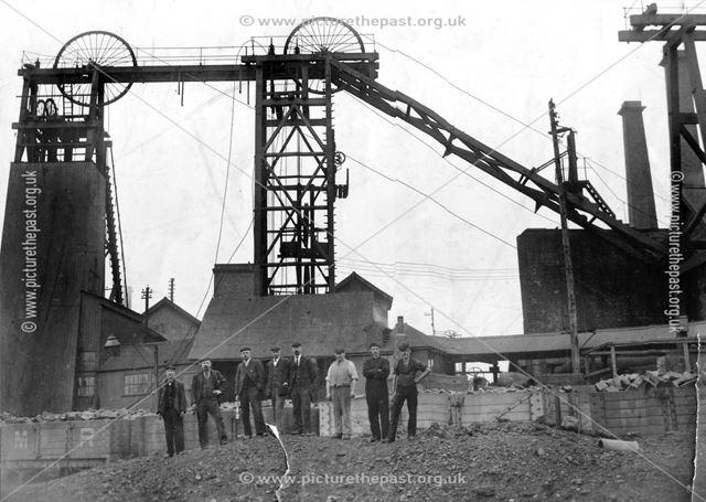 Bulwell Back Legs, Cinderhill Colliery, Nottingham, early 20th century