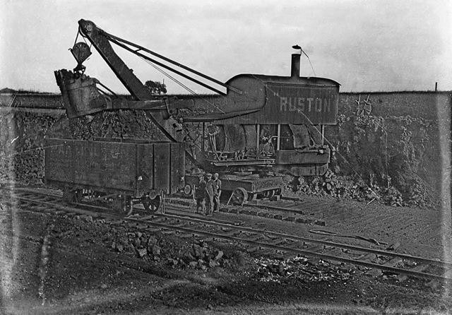 Transporting Iron Ore at Stanton Works