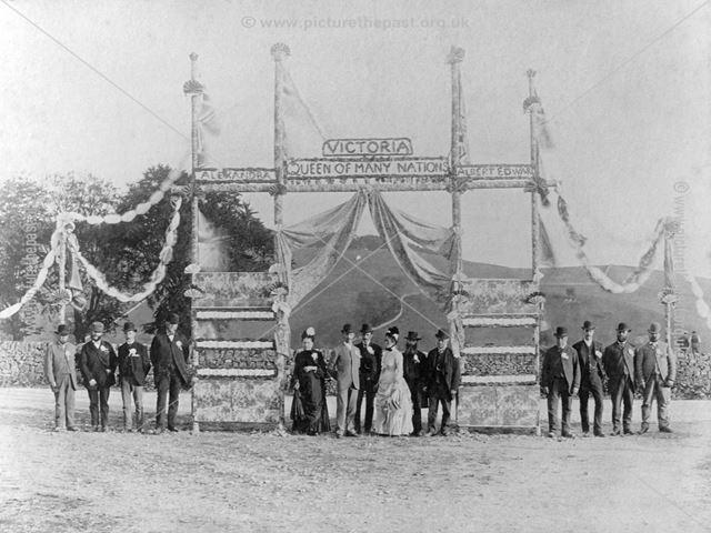 Jubilee event, Bradbourne, 1887