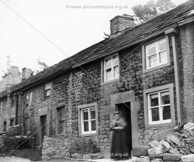 Grandma Wildgoose, Goose Hill, Castleton, c 1906