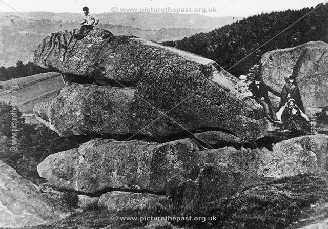 Black Rocks, Cromford, late 19th century