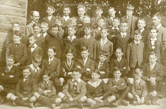 Matlock Council Boys School, 1928