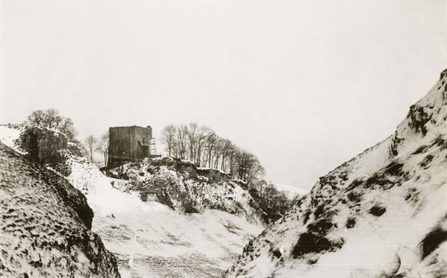 Peveril Castle, Castleton, 1936