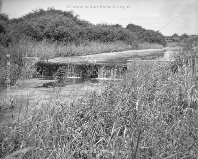 Small weir north of Railway Bridge
