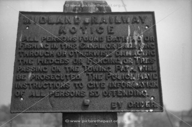 Midland Railway Notice