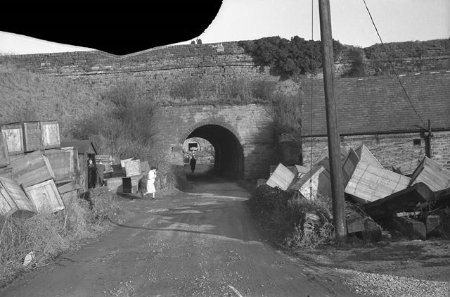 Bullbridge Aqueduct, Drovers Lane (formerly Gas Lane), Bullridge, 1962