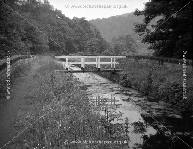 Wigwell Aqueduct footbridge