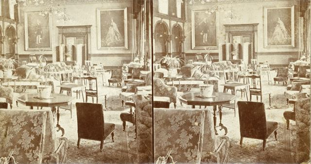 Drawing Room, Smedley's Hydro, Smedley Street, Matlock, c 1900