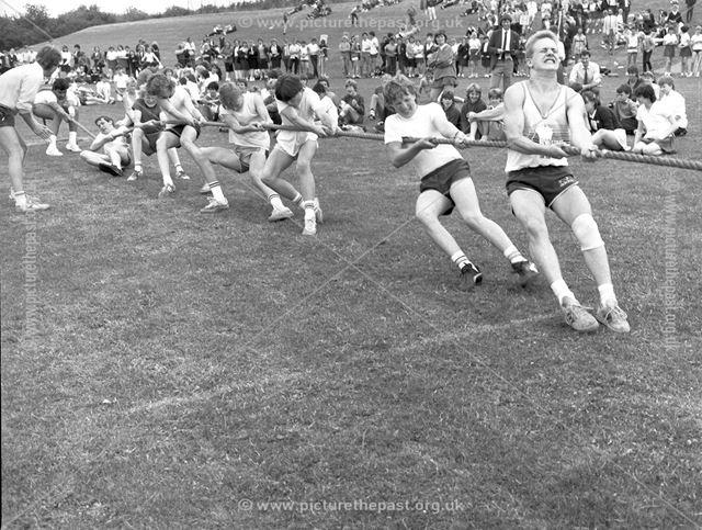 School Sports Day, IIlkeston School, off West End Drive, lkeston, c 1980s