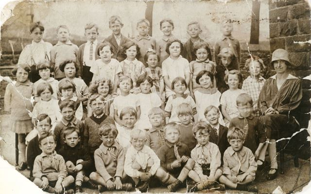 Miss Imbrey's Class, Chinley School, Chinley, 1926-7