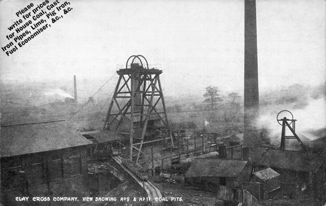 Clay Cross Company Coal Pits 9 and 11, c 1890s-1910s