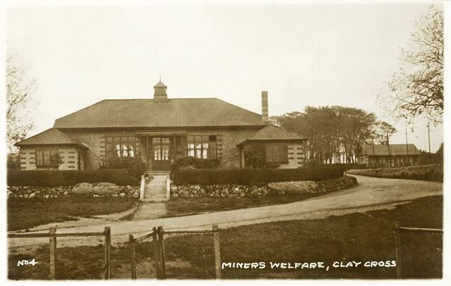 Clay Cross Miners' Welfare, Danesmoor, Clay Cross, c 1920s