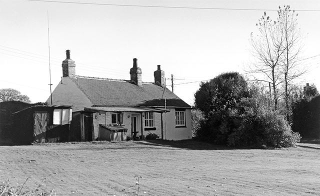 Back of cottage, Ripley Road, Upper Hartshay, 1999