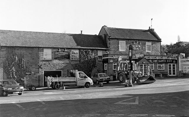 The Black Boy public house, Old Road, Heage, 1999