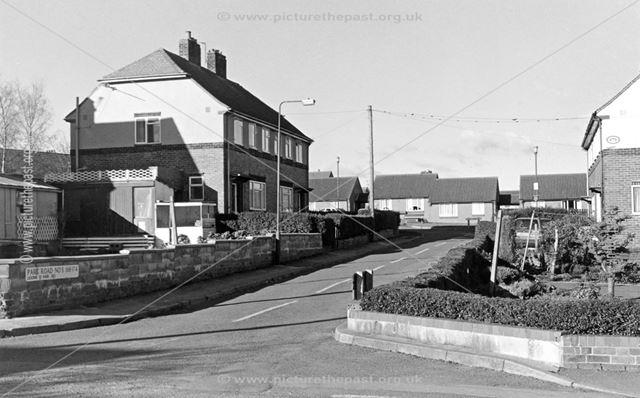 Park Crescent, off Park Road, Heage, 1999