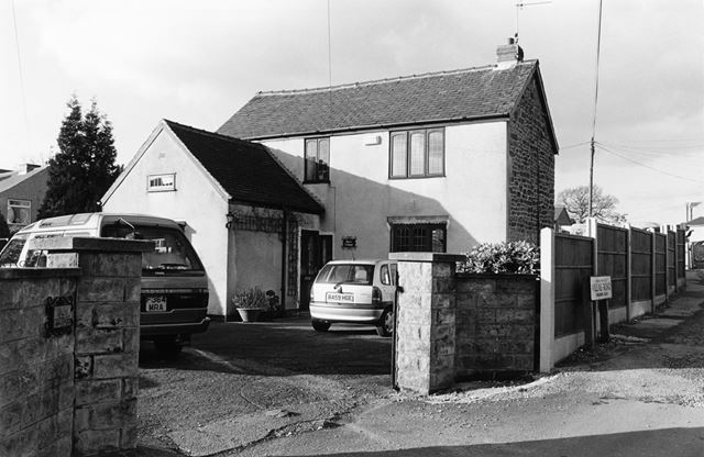 Barn Cottage, Toadmoor Lane at the junction with Villas Road, Ambergate, 1999
