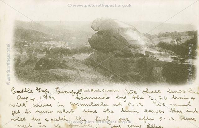 Black Rocks, Cromford, c 1902