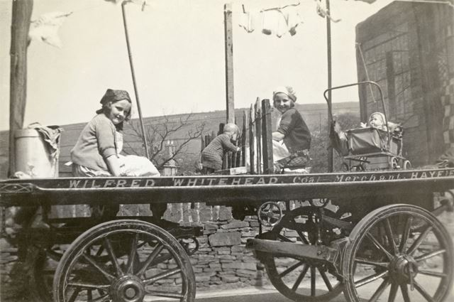 May Day float, Hayfield, High Peak, c 1930s