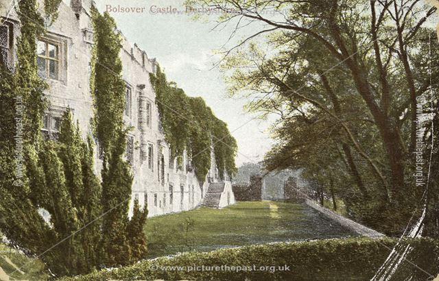Bolsover Castle Terrace, c 1900s