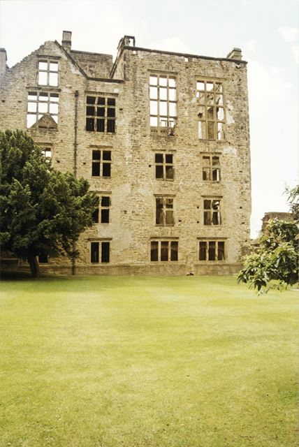 Old Hall at Harwick, Hardwick Hall Country Park, Ault Hucknall, c 1990s