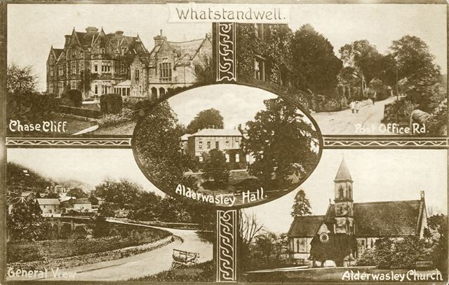 Five Views in and around Whatstandwell, c 1900s ?