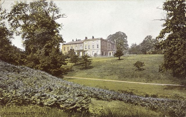 Alderwasley Hall, Alderwasley, c 1900s
