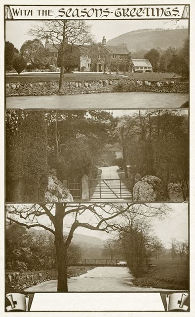 Views of Rowsley, c early 1900s?