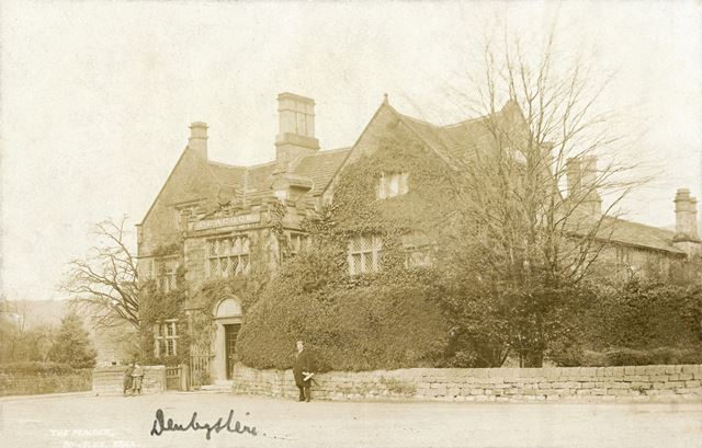 Peacock Hotel, Dale Road North (A6), Rowsley, c early 1900s?