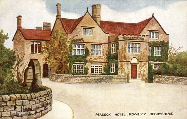 Peacock Hotel, Dale Road North (A6), Rowsley, 1922-23