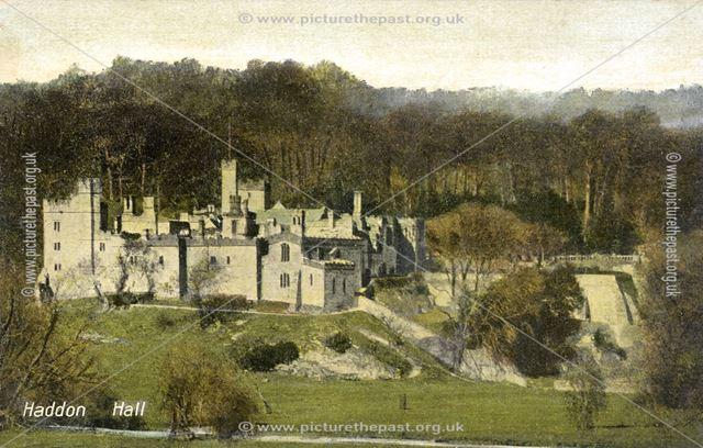 Haddon Hall, Haddon Road, Bakewell, c early 1900s?
