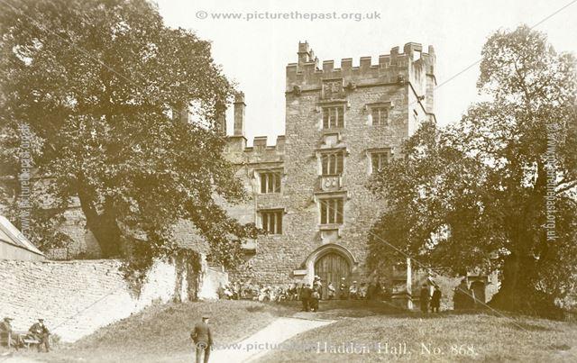 Haddon Hall, Haddon Road, Bakewell, c 1910s