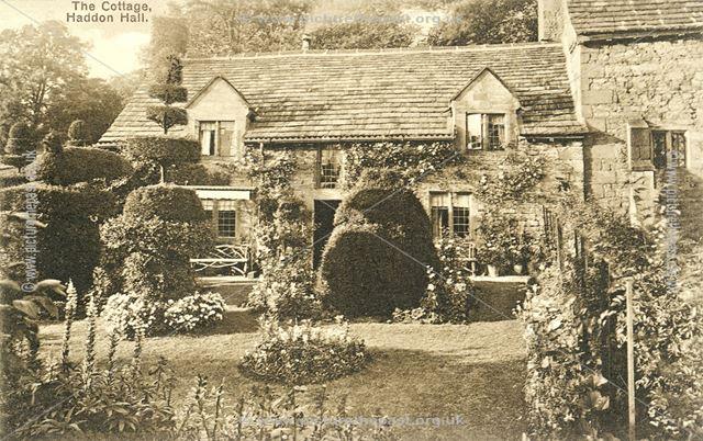 Cottage in Haddon Hall, Haddon Road, Bakewell, c 1910s