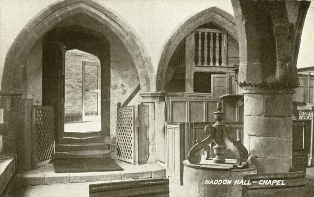 The Chapel, Haddon Hall, Bakewell, c 1900s-1910s