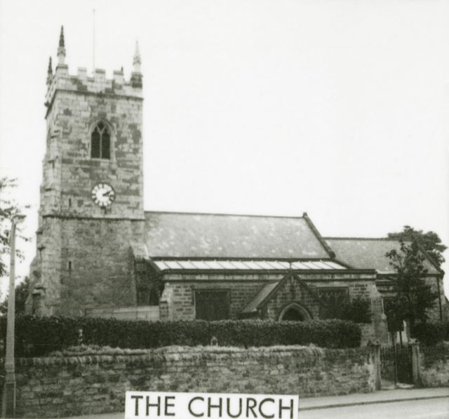 St Michael and All Angels Church, South Normanton, c 1960s